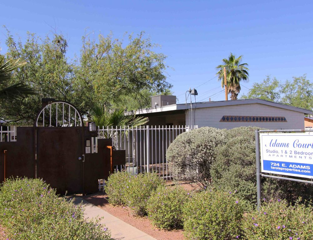 Adams Court Apartments – Studio, 1 and 2 Bedrooms near U of A